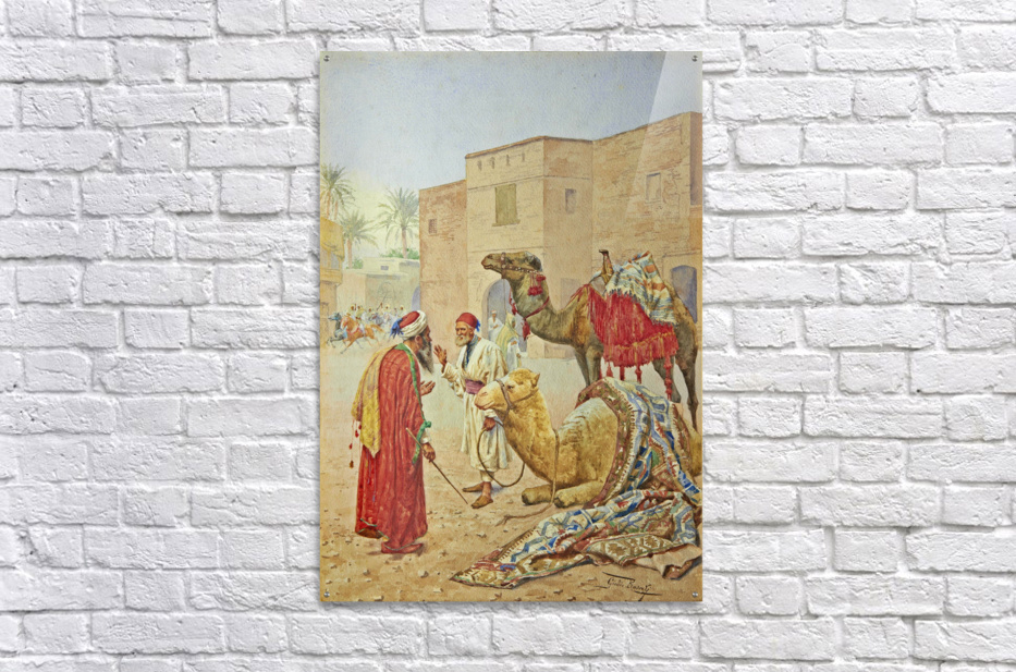 The camel seller  Acrylic Print