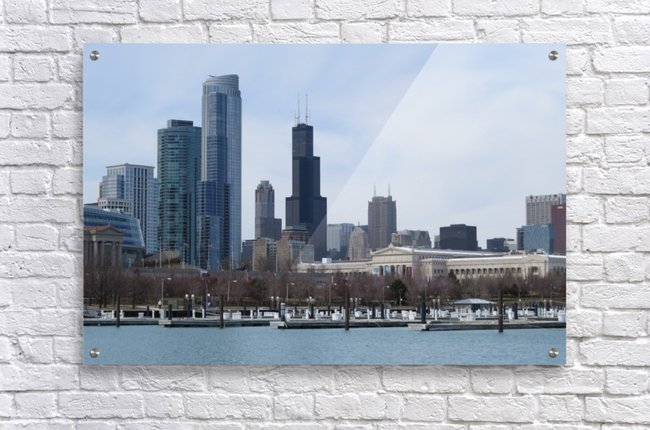 View of Chicago From Northerly Island VP2  Acrylic Print