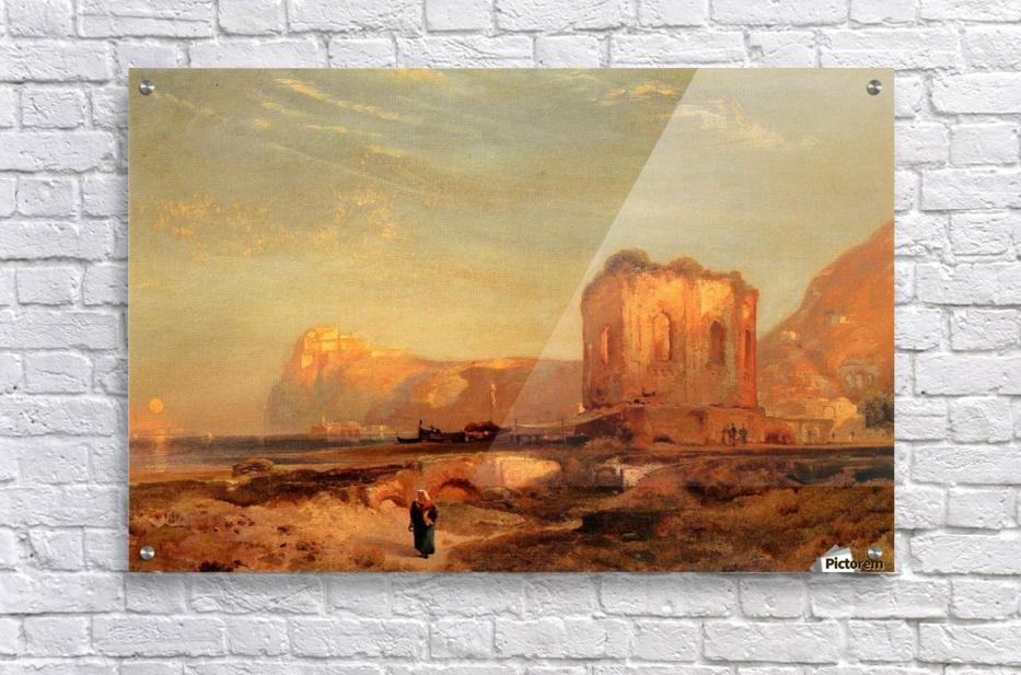 Temple of Venus Castle of Baiae, 1867 - Thomas Moran Canvas