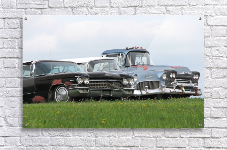 Old Cars on Grave Run Road VP2  Acrylic Print