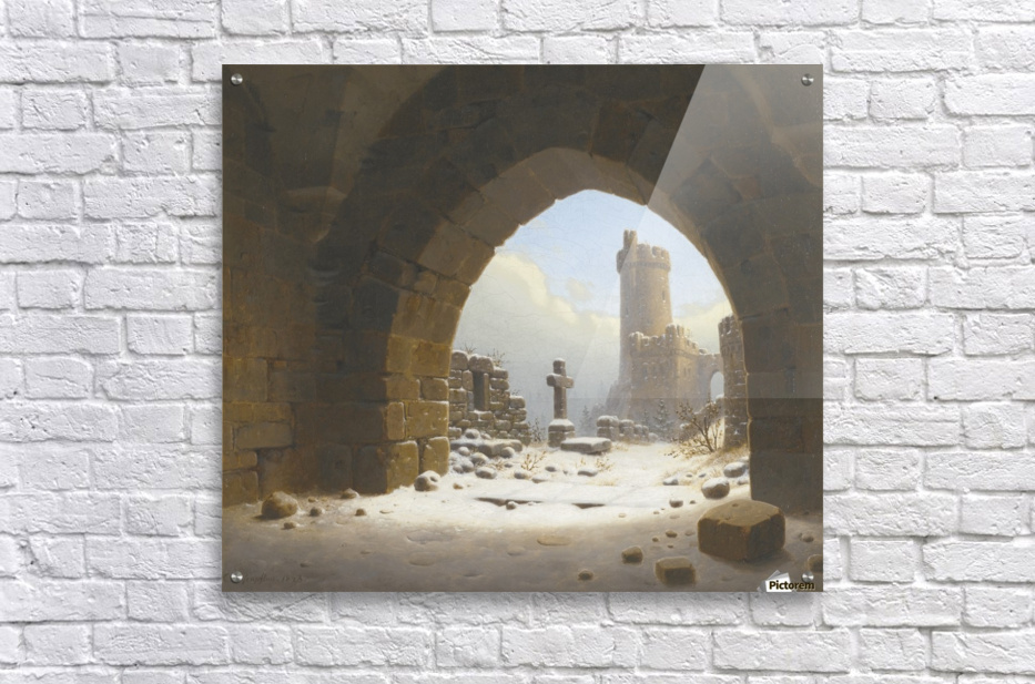 Ruins on the edge of the city  Acrylic Print