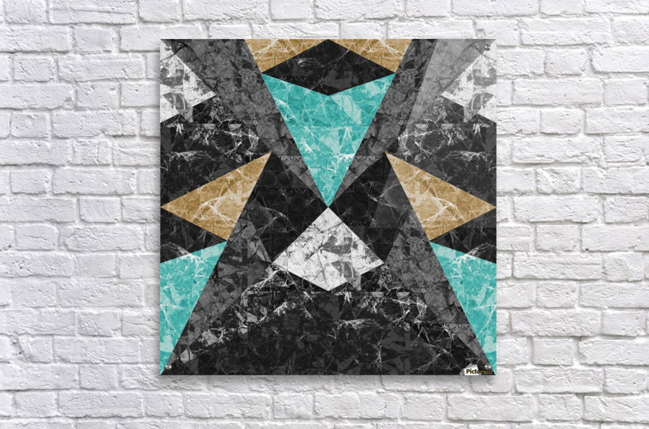 Marble Geometric Background G430  Acrylic Print