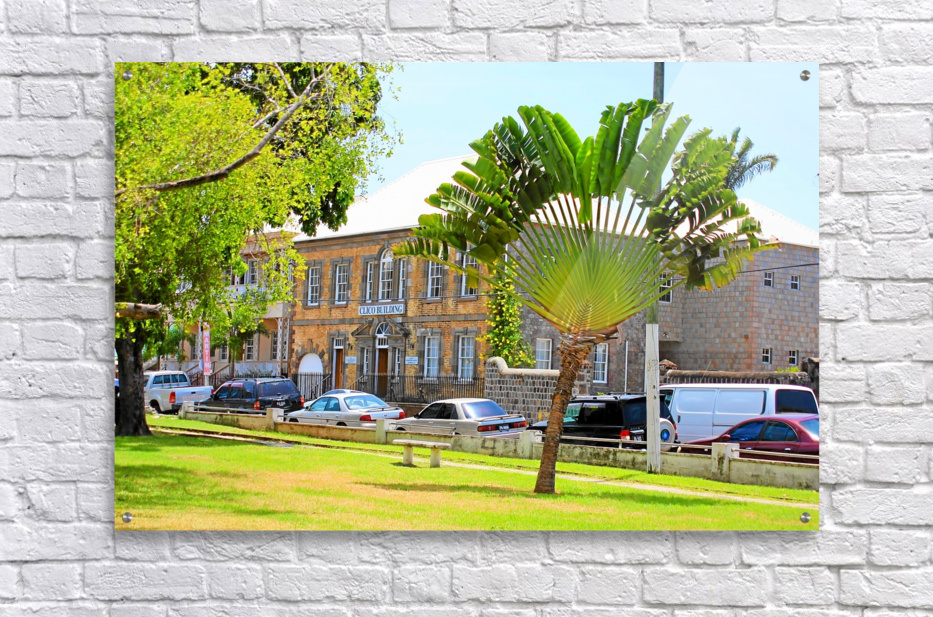 St Kitts Independence Square 3  Acrylic Print