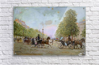 The Promenade on the Champs-Elysees  Acrylic Print