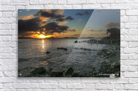 Gallows Point Sunset  Acrylic Print