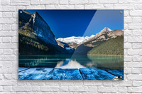 Lake Louise Dock  Acrylic Print