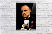 Marlon Brando - The Godfather  Acrylic Print