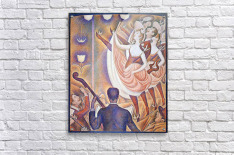 The big show by Seurat  Acrylic Print