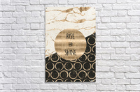 GRAPHIC ART Rise and shine Acrylic Print