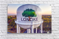 Lonoke, AR | Painted Water Tower 2017  Acrylic Print