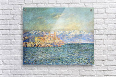 The old Fort in Antibes by Monet  Acrylic Print