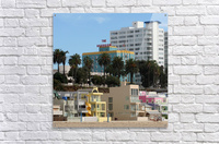 The Georgian at Santa Monic Beach  Acrylic Print