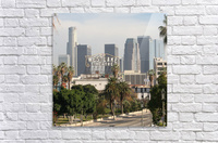 Westlake Theater to Los Angeles - Square  Acrylic Print