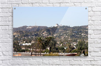 Hollywood Hills from Silver Lake  Acrylic Print