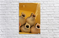 Four Stacked Jugs  Acrylic Print