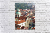Looking Down on Prague  Acrylic Print