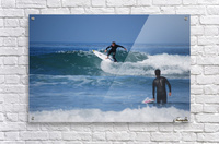 Guy Surfing In California  Acrylic Print