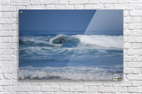 The Lone Surfer  Acrylic Print