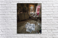 Abandoned Alice In Wonderland Room  Acrylic Print