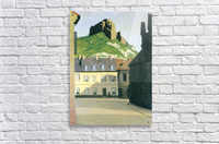 Town square in Andlys by Felix Vallotton  Acrylic Print