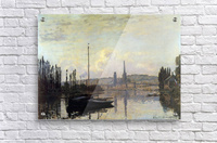 View of Rouen by Monet  Acrylic Print