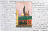 View of the Kremlin in Moscow by Felix Vallotton  Acrylic Print