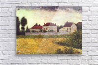 Ville dAvray, The white houses by Seurat  Acrylic Print