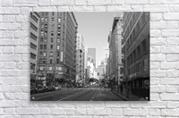 7th & Broadway DTLA - B&W  Acrylic Print