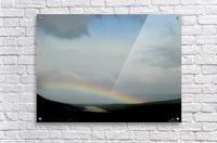 Rainbow at Thousand Smokes  Acrylic Print