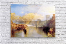 Ancient Rome; Agrippina lands with the ashes of Germanicus by Joseph Mallord Turner  Acrylic Print