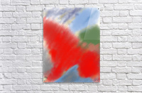 Abstract-red flame  Acrylic Print