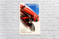 Berne Grand Prix d'Europe Autos 1948  Acrylic Print