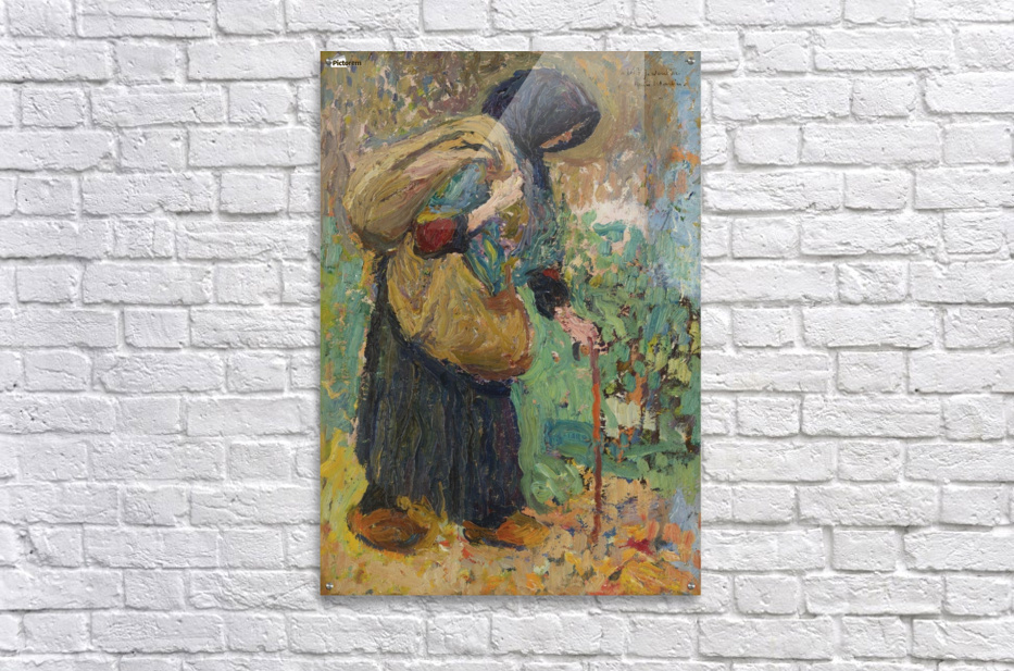 Old Peasant Woman  Acrylic Print
