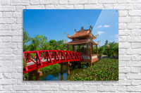 Can Tho temple VietNam  Acrylic Print