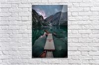 Braies reflections  Acrylic Print