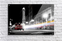 Tennessee Theater Monochrome  Acrylic Print