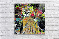 Kitten in Colorful Leaves  Acrylic Print