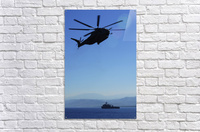 A CH-53E Super Stallion helicopter.  Acrylic Print