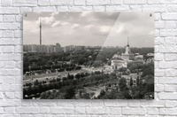 Moscow Air View I  Acrylic Print