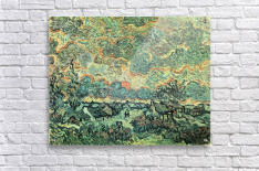 Remembering the north by Van Gogh  Acrylic Print