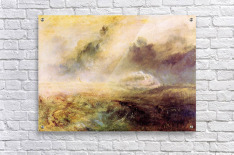 Rough Seas with wreckage by Joseph Mallord Turner  Acrylic Print