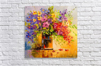 A bouquet of wild flowers  Acrylic Print