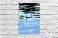 Reeds In The Shallows Abstract  Acrylic Print
