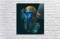 Theres a killer on the moon  Acrylic Print