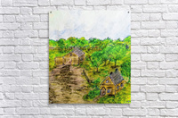 George and Marthas Old Place  Acrylic Print