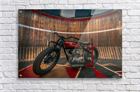 1927_Indian_Scout_Motorcycle  Acrylic Print