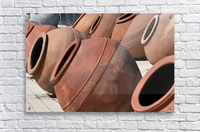 Large Wine Clay Pot - Cyprus  Acrylic Print