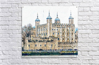 Tower of London 2  Acrylic Print