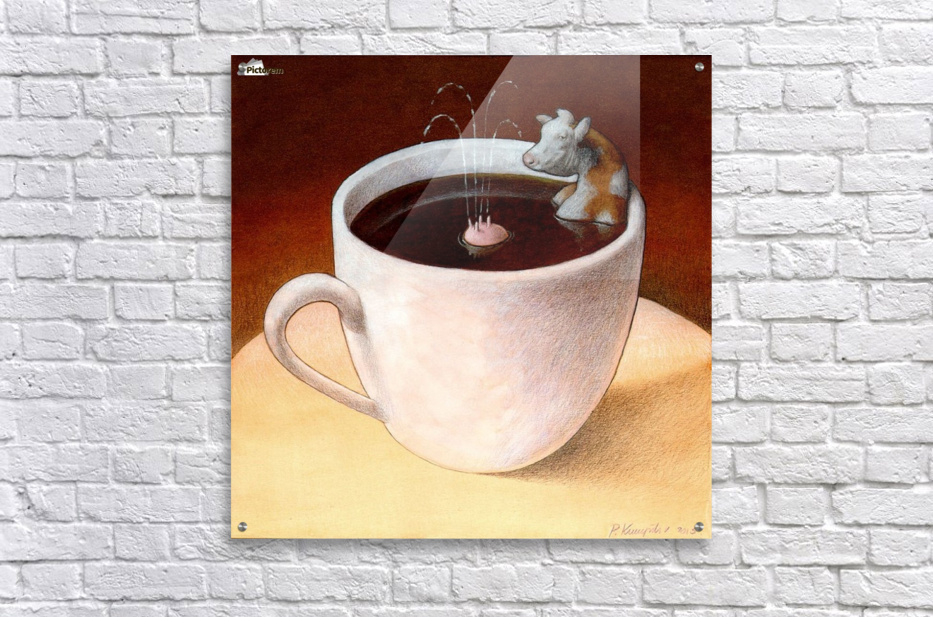 Coffee with milk Acrylic Print