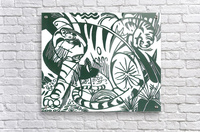 Tiger -2- by Franz Marc  Acrylic Print